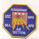 Legacy US Customs ABQ Albuquerque Air Section USC DEA APD NMS Patch novelty item