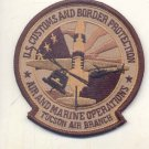 US Customs & Border Protection TUCSON Air Branch Air & Marine Op Novelty Patch