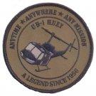 USMC UH-1 Huey Desert Final Patch A legend Since 1956 OD Green