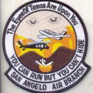 Legacy US Customs, San Angelo Air Branch Patch  novelty item