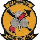 USMC  Fighting 103 Sluggers Strike Fighter Squadron 103 (VFA-103) Patch