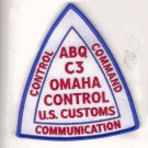 Legacy US Customs ABQ C3 Omaha Control Patch novelty item