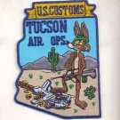 Legacy United States Customs Tucson Air Branch Patch Coyote novelty item