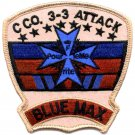 US Army 3nd Battalion 3rd Aviation Attack Regiment C Company Patch BLUE MAX