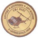 USMC UH-1 Huey Desert Final Patch A legend Since 1956 Desert Patch