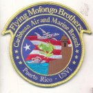 US Flying Mofongo Brothers Caribbean Air & Marine Puerto Rico Patch novelty