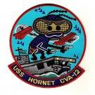US Navy CVA-12 USS Hornet Ship Patch
