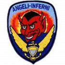 US Navy VF-54 FIGHTER SQUADRON - HELL'S ANGELS - ANGELI-INFERNI Patch