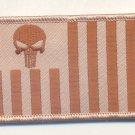 SET OF US CUSTOMS ENSIGN DESERT PUNISHER SKULL FLAG PATCH RIGHT & LEFT ARM