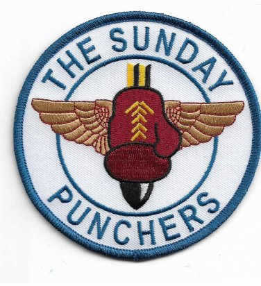US Navy The Sundy Punchers Attack Squadron 75 (VA-75) or ATKRON 75 Patch
