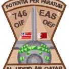 USAF 746th Expeditionary Airlift Squadron Patch