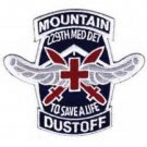 US Army 229th Aviation Medical Detachment 10th Mountain Division Patch - DUSTOFF