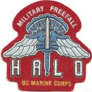 USMC HALO Military Freefall Patch