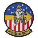 US Navy VF-103 Patch Red White & Blue Baseball Tomcat Sluggers, Baby Patch