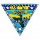 US Navy Air Station Mayport Jacksonville Florida Patch