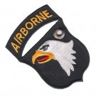 US Army 101st Airborn Screaming Eagle Double Sided Patch Christmas Tree Ornament