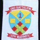 USMC 2nd Battalion 5th Marines Pendleton Ca Patch