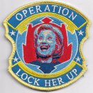 United States Operation Lock Her Up Hillary Clinton Patch