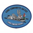 US Navy Comfort T-AH 20 Mercy Class Hospital Ship Patch - SOME COMFORT.EH DOC