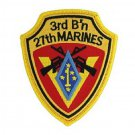 USMC 3rd Battalion 27th Marines Patch