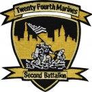USMC 2nd Battalion 24th Marines Patch