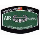 US Army Armed Forces Army Air Assault Trooper MOS Patch
