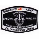 US Army Special Forces MOS Patch De Oppresso Lib
