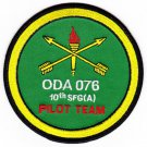 US Army Co A 3rd Battalion 10th Mountain Special Forces Group SFG ODA-076 Patch