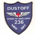 US Army 236th Medical Detachment - DaNang Charger Dustoff Patch