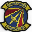 US Navy TRARON-86 Training Squadron 86 VT-86 Sabrehawks Patch