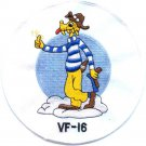 US Navy VF-16 Fighter Squadron Sixteen Patch - Fighting Airedales
