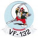 US Navy VF-132 Aviation Fighter Squadron One Three Two Patch SWORDSMEN