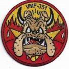 USMC Disney WWII Series VMF-51 Peg Leg Petes Devil Dogs Patch