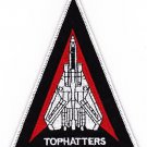 US Navy F-14 Tomcat Squadron VF-14 Triangle Patch