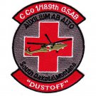 US Army 1st Squadron 189th General Support Aviation Battalion GSAB Dustoff Patch