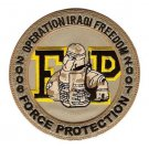 US Army Force Protection Operation Iraqi Freedom Military Patch