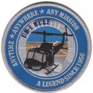 USMC UH-1 Anytime Anywhere Any Mission A Legend Since 1956 Color Patch