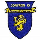 US Navy Cortron-10 Escort Squadron Patch