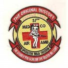 US Army 57th Medical Company Charlie Team Air Ambulance Dustoff Patch