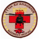US Army 111th Aviation Air Ambulance Reg Patch DUSTOFF RAZORBACK MEDEVAC DESERT