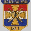 US Navy USS Belleau Wood LAH-3 Patch