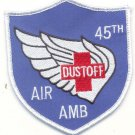 US Army 45th Medical Company Air Ambulance Vietnam Helicopter Dustoff Patch