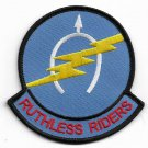 US Army B Troop 7th Sq,17th Air Cav Regiment RUTHLESS RIDERS Vietnam War Patch