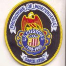LEGACY US CUSTOMS 200TH ANNIVERSARY Novelty Patch