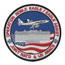 USAF Operation Noble Eagle Patch EAGLE ASSIST JOINT NATO & US AWACS