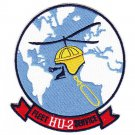 US Navy HU-2 Helicopter Utility Squadron TWO Patch FLEET SERVICE FLEET ANGELS