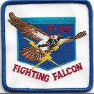 USAF F-16 Fighting Falcon Vintage Patch