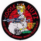 USUS Navy HSL-46 DET 4 Helicopter Anti-Submarine Squadron Light Patch