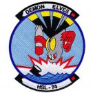 US Navy HSL-74 Helicopter Anti-Submarine Squadron Light Patch