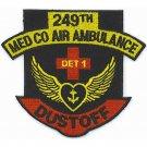 US Army 249th Medical Company Detachment 1 Aviation Air Ambulance Dustoff Patch
